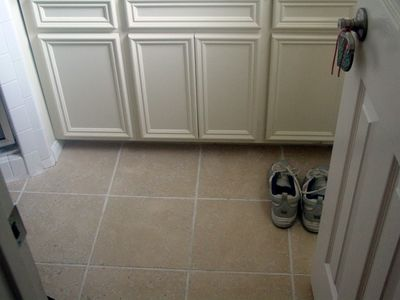 CyberLog: New Finished Ceramic Tile Kitchen Floor Child