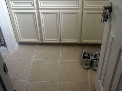 CyberLog: New Finished Ceramic Tile Kitchen Floor Child